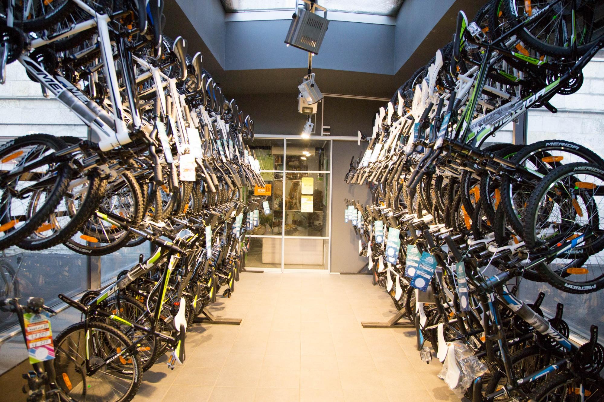хранение велосипедов в Уфе